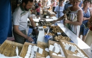Benodet Market - cheese
