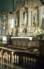 St Thegonnec Church altar