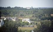 View from Abbaye St Anne de Kergonan