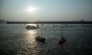 St Malo harbour at dusk