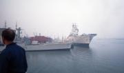 Warships at dawn