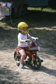 Small boy on trike