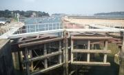 Locks at La Rance tidal power station