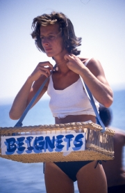 Beignets lady