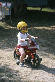 Small boy on trike