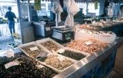 Shellfish stall