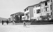 Beach-front houses