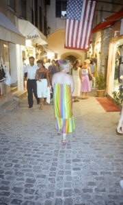 Greta in St Tropez
