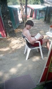 Simon reading