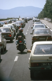 Traffic on the Autoroute de Sud