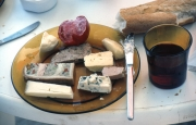 Lunch - pate and cheese