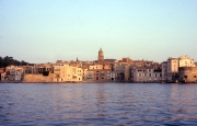 St Tropez old town from the sea