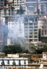 Fire in Monte Carlo
