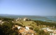 Aiguines, the Chateau and Lac de Ste Croix