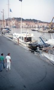 St Tropez harbour front