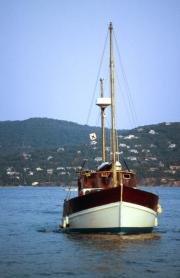Cadoudal, Eamonn's boat