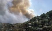Fires near Monaco