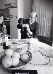 Marie-Claire and Georges, plus chien