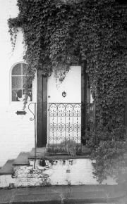 Mews Door with Ivy