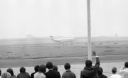 BAC One-Eleven being waved off