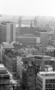 View from St Paul's to Tower Bridge