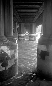 Underneath Blackfriars Bridge