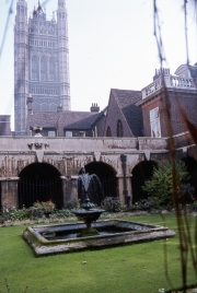 Garden at Westminster Abbey
