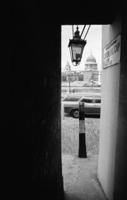 Alley and St Paul's