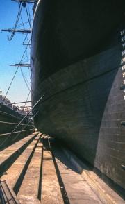 Cutty Sark hull