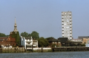 Wapping and The Prospect of Whitby pub