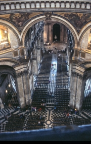 St Paul's Nave, from the Whispering Gallery