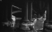 Underneath Cannon Street railway bridge