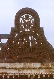 Ironworks on St Paul's railway bridge