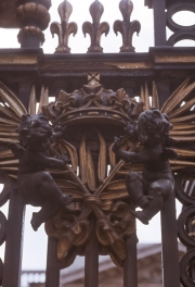 Ironworks on the gate