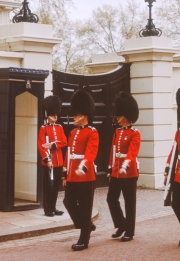 Sentries at Clarence House