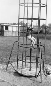 David in playground