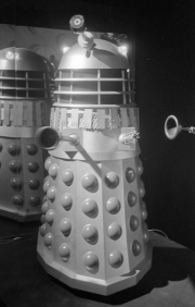 Dalek, Dr Who exhibition