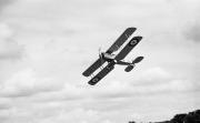 British biplane