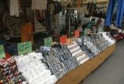 Bibione market - sock stall