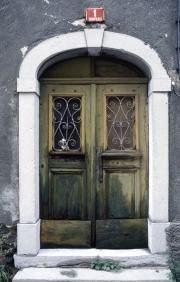 Doorway in Postojna