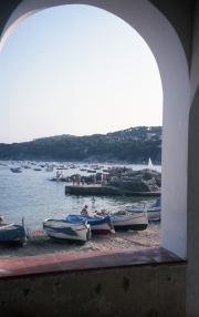 Cove through the arch