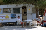 Camping La Siesta, Couriers