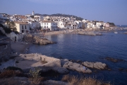 View of Calella and small bay