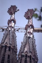 Sagrada Familia - top of two spires