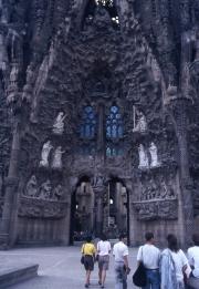Sagrada Familia - the old front