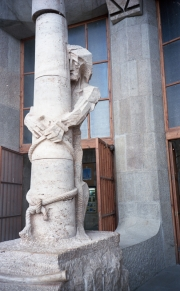 Column sculpture