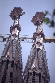 Sagrada Familia - top of two spires