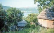Straw huts