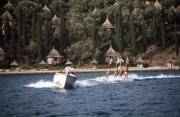 Water-ski welcome