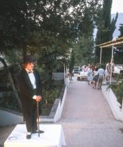 Kiki as Chaplin